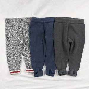 Joe Fresh 3pcs Knit Joggers Sz 12-18mths